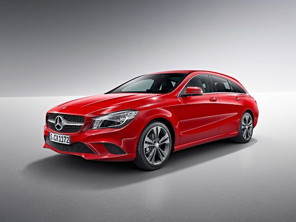 Mercedes CLA-Class Shooting Brake 2015-2016 фото
