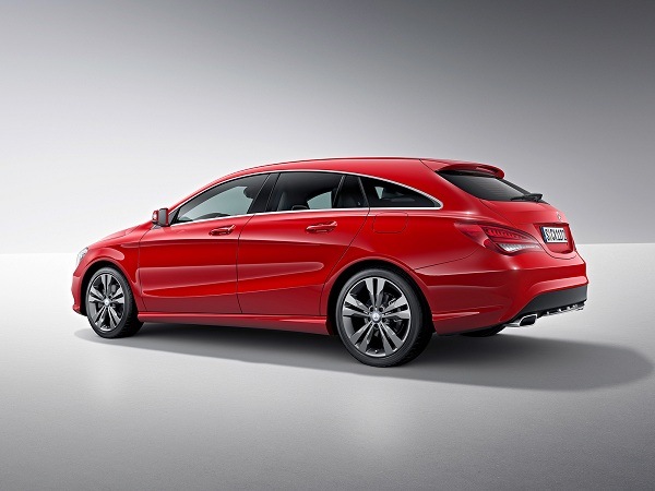 Mercedes CLA-Class Shooting Brake 2015 фото