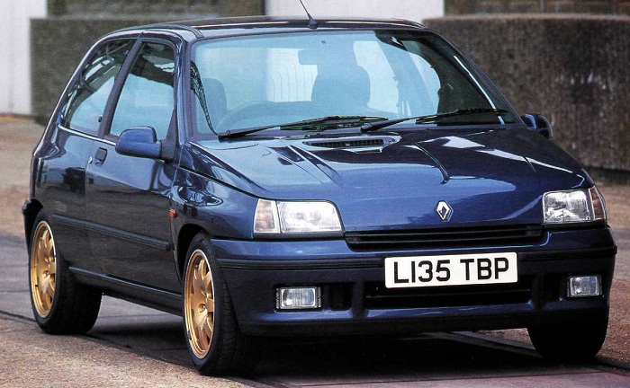 Renault Clio Williams (1993) на фото