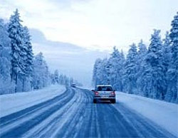 Вождение зимой