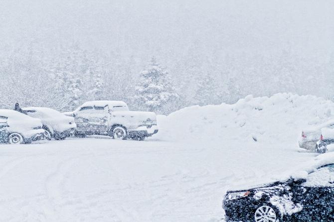 Управление авто в зимнее время года