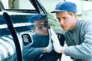 Подготовка к кузовному ремонту