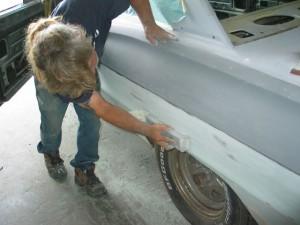 шпатлевка кузова авто
