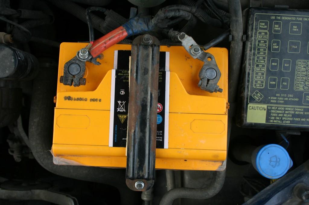 аккумулятор подключен