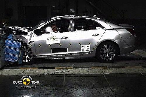 Краш тест Chevrolet Malibu