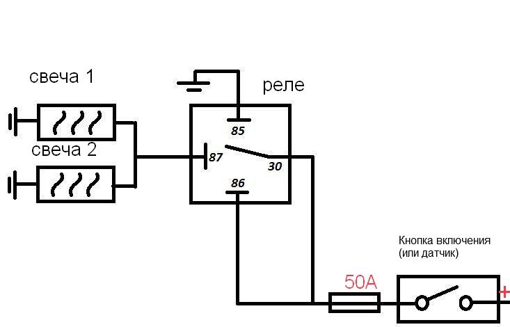 схема монтажа дополнительного подогревателя охлаждающей жидкости