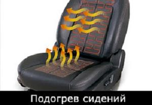 подогрев сидений