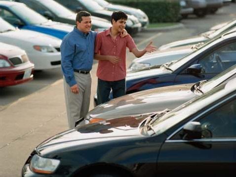 Покупка авто на рынке
