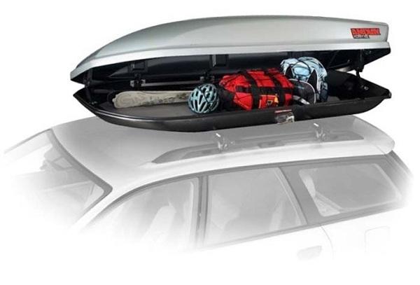 фото бокса для вещей на крышу автомобиля
