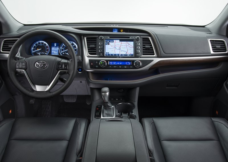 Toyota Highlander 2014-2015 - салон