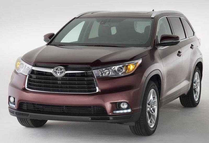 Toyota Highlander 2014-2015 - внешний вид автомобиля