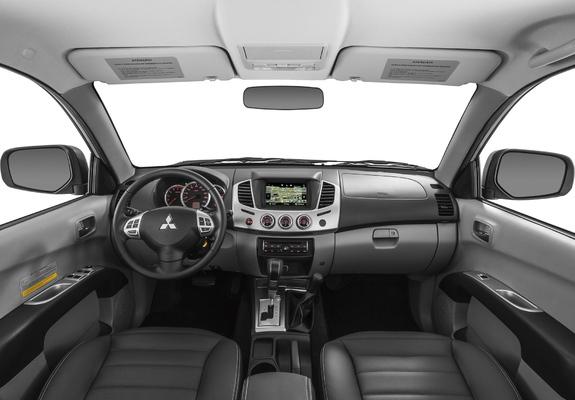 Mitsubishi L200 фото салона