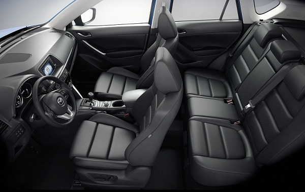Mazda CX-5 2015-2016 фото салона