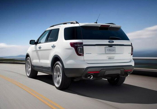 Ford Explorer 2015 фото