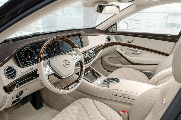 фото салона Mercedes-Maybach S600