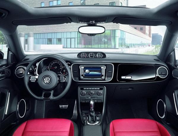 фото салона Volkswagen Beetle 2016