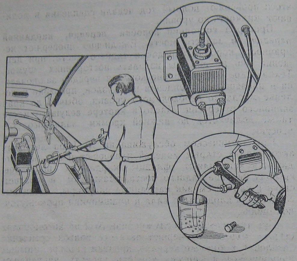 Инструкция по прокачке сцепления на ВАЗ 2106