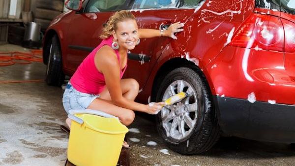 Обязательно помойте машину