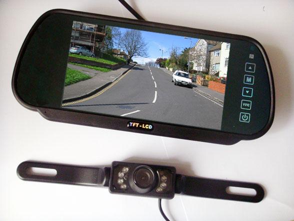 камера заднего вида с монитором