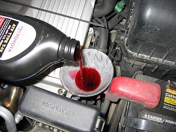 фото жидкости для трансмиссии