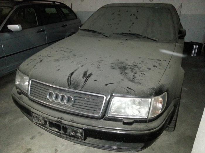 автомобиль после длительного простоя фото