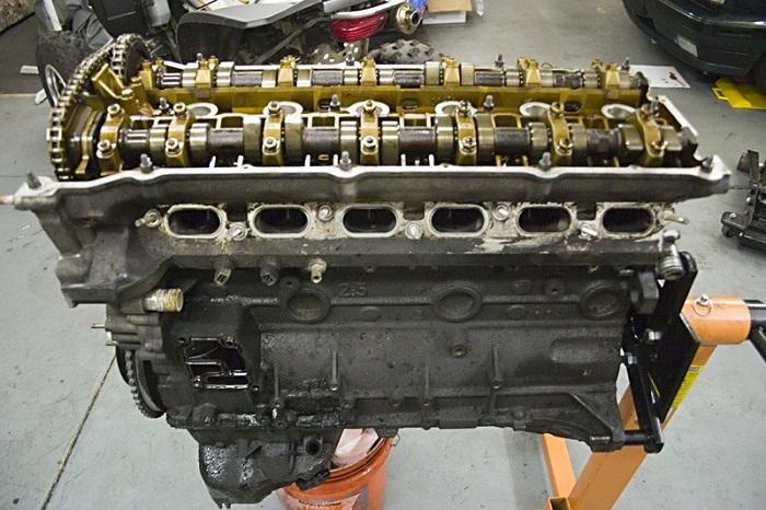 BMW двигатель M50 фото