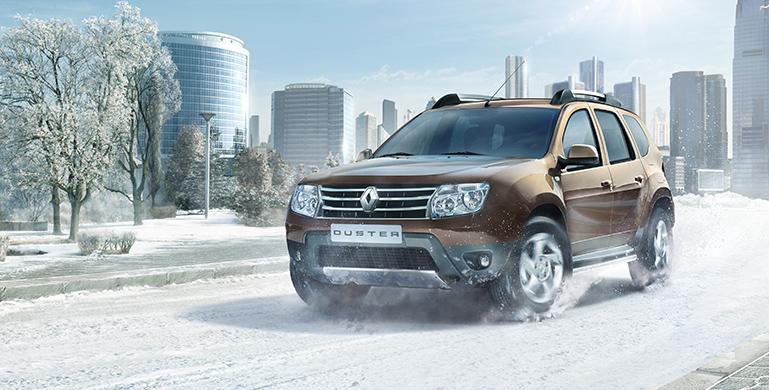 на фото одна из лучших авто для российских дорог Renault Duster