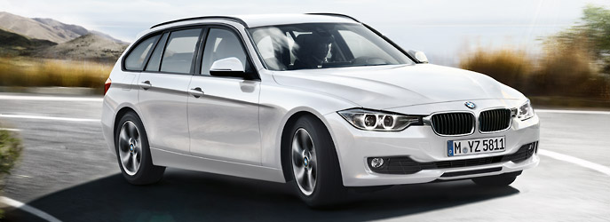 BMW 320d Touring фото