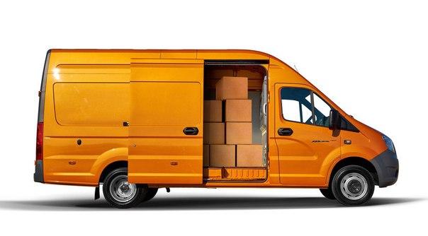 на фото Газель Next, который является одним из самых лучших коммерческих фургонов в РФ