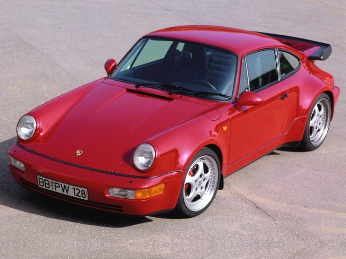 Porsche 911 (1993) на фото