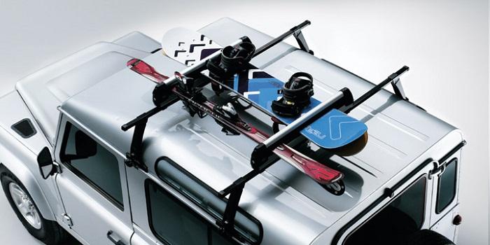 багажник для лыж и сноуборда фото