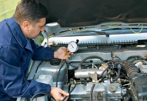 проверка топливной системы автомобиля фото