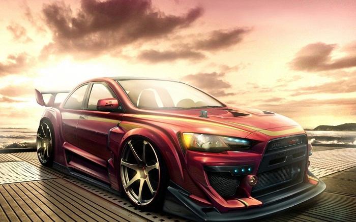 Mitsubishi Lancer Evo X фото