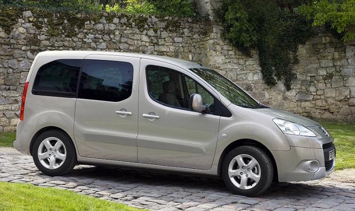 Peugeot Partner Tepee фото