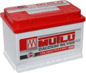 Аккумулятор MUTLU 75 Ач о.п.