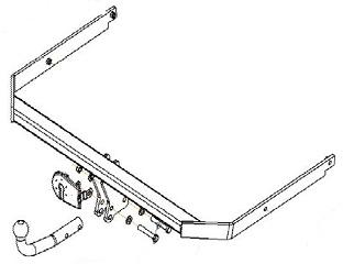 Фаркоп на Форд Фокус 2 седан