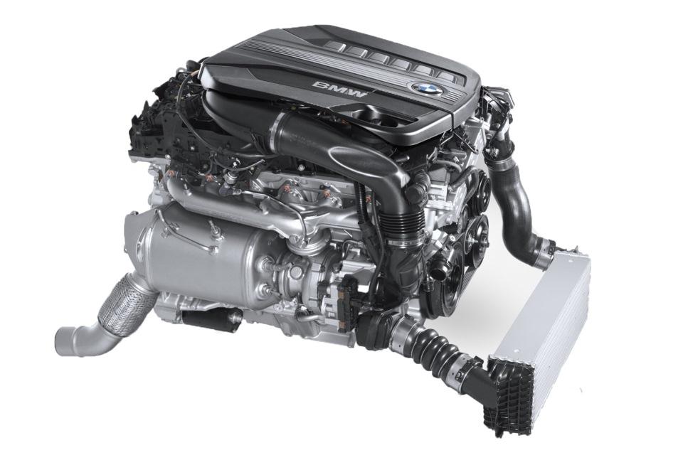 N57 BMW дизельный двигатель фото