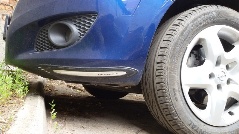 Opel Zafira клиренс