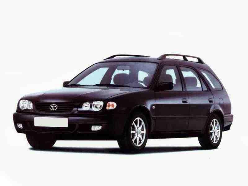 Toyota Corolla 2000 года выпуска