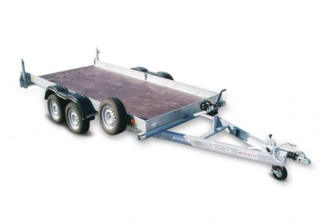 Прицеп Автовоз 2600 для перевозки автомобиля фото