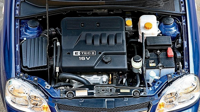 Chevrolet Lacetti 1.6, 1.4 определяем ресурс двигателя