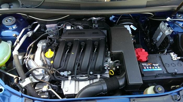 Renault Logan 1.6MT двигатель