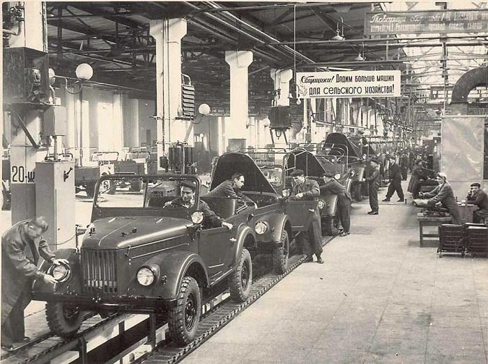Автомобильный завод в СССР