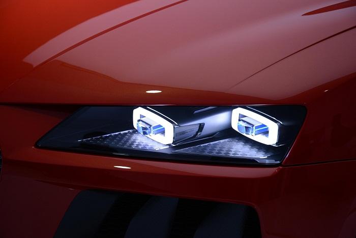 Лазерные фары для авто
