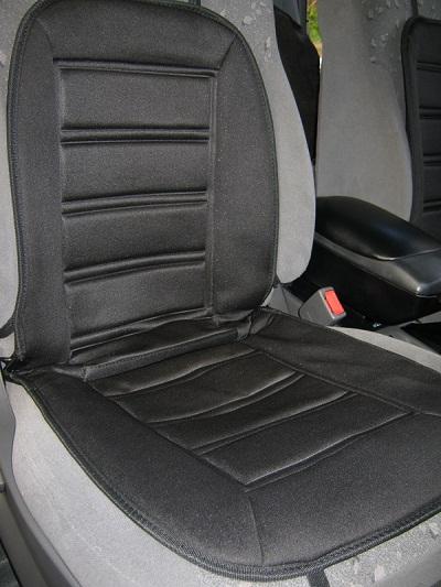 Накидка с подогревом на сиденье автомобиля: выбор и отзывы
