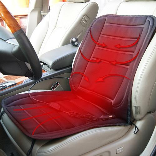 Накидка с подогревом на сиденье автомобиля