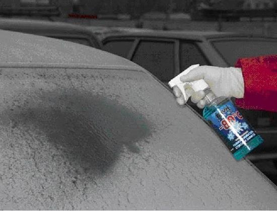 Размораживатель стекол для автомобиля: выбор и отзывы