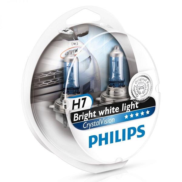 галогеновые лампы Philips Vision H7