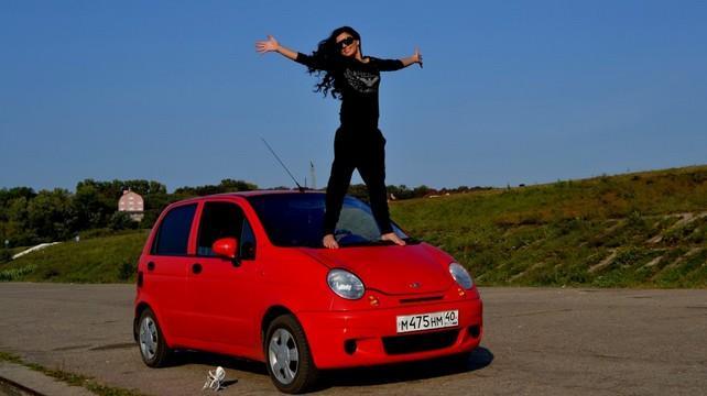 Daewoo Matiz мини автомобиль для женщин