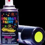 Меловая аэрозольная краска: сфера применения и достоинства